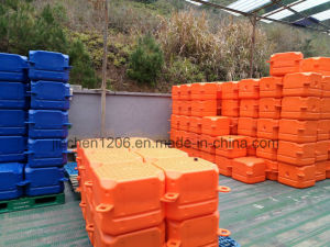 Durable Blue Plastic Floating Pontoon Dock Used Jet Ski Float pictures & photos