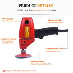 710W Electrical Power Tools Polishing Machine Stone Polisher pictures & photos