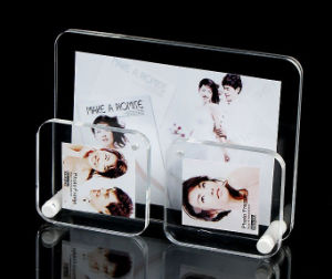 Customize Wholesale New Clear Acrylic Photo Frame pictures & photos