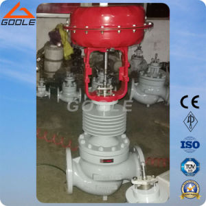 Top Guided Sigle Seat Pneumatic Pressure Regulating Valve (ZJHP) pictures & photos