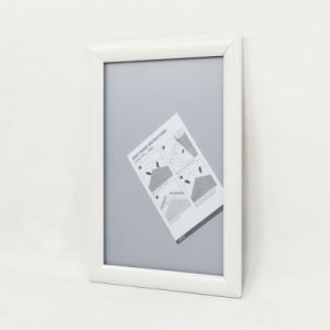 Black Sign Holder Frame Wall Mounted Snap Frame pictures & photos
