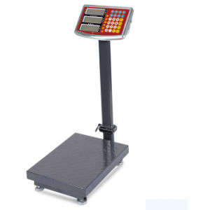 Electronic Iron Checked Platform Scale (DH~518L) pictures & photos