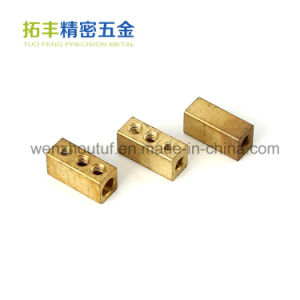 High Quality Copper Terminal Brass Electric Meter Terminal Connectors pictures & photos