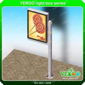 Outdoor Street Lamp Pole Mupi Advertising Light Box Exhibition Equipment pictures & photos