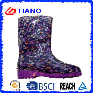 Waterproof Ankle PVC Rain Boots for Lady pictures & photos