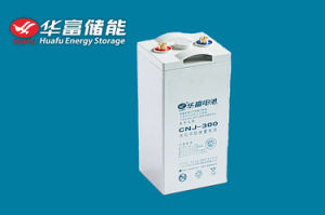 2V300ah Solar Storage Maintenance Free Gel Battery pictures & photos