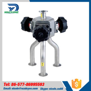 Stainless Steel Multiple Ways Manual Diaphragm Valve (DY-V095) pictures & photos