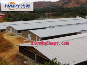 Prefab Steel Poultry House for Chicken with Automatic Equipment 2016 pictures & photos