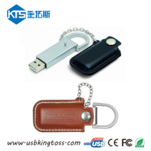 Popular Design 4GB Leather USB Memory Stick