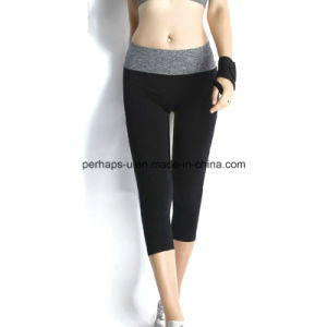 Women Quickly Dry Yoga Pants Gym Wear Athletic Wear Leggings pictures & photos