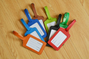 Colorful Can Mix Color Custom Logo Luggage Tag pictures & photos