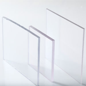 Flat Polycarbonate Sheet for Building Material pictures & photos