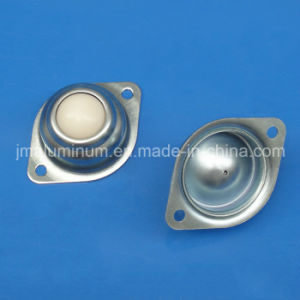 2 Hole Mounted Flange Ball Transfer Units Nylon Universal Ball Conveyor Roller Wheels pictures & photos