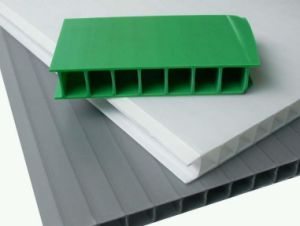 Colorful PP Hollow Sheet Plastic Sheets Board pictures & photos