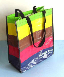 Cheap Hand-Made Custom Full Color PP Woven Bag pictures & photos