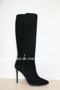 Professional Manufacturer of Sexy Lady Leather Boots pictures & photos