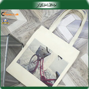 Customized Picture Print Newly Leisure Canvas Shopping Bag pictures & photos