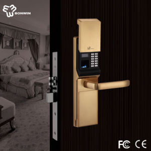 Companies Looking for Fingerprint Lock with Keypad +Passord+LCD+ Slip Cover pictures & photos
