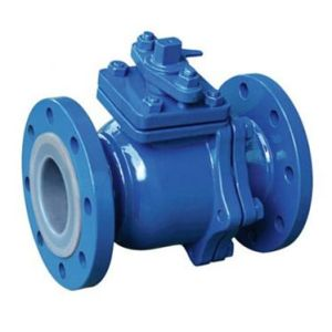 PFA/FEP Lined Ball Valve for Corrosive Fluid Application (Teflon Lined ball valve)
