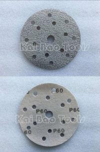 White Aluminium Oxide Disc Sand Paper pictures & photos