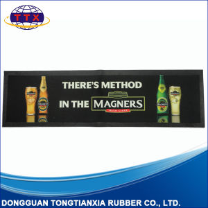 Custom Logo Rubber Felt Bar Runner Manufacturer pictures & photos