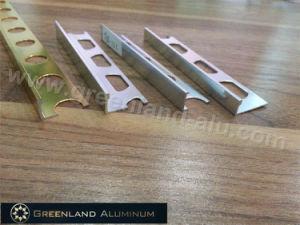 Bright Gold L Shape Tile Trim for 8mm, 10mm, 12mm Tile pictures & photos
