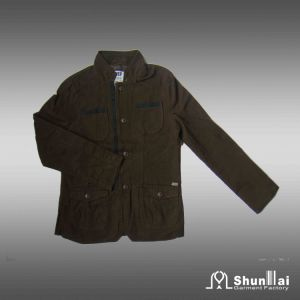 Men′s 100% Cotton Outdoor Jacket