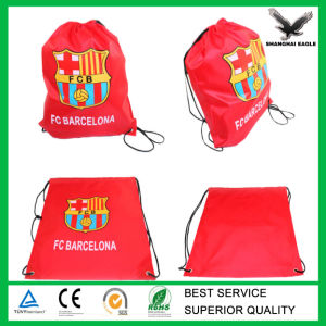 Custom Nylon Drawstring Gym Bag pictures & photos