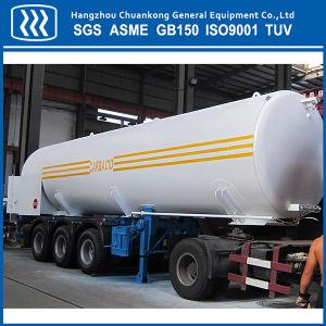 Cryogenic Liquid Transportation Semi Trailer Storage Tanker pictures & photos