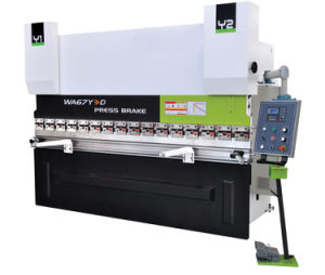 Hydraulic Press Brake (WA67Y-320-6100) pictures & photos