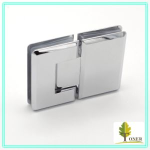 Square Bevel Edge 180 Degree Shower Hinge/ High Quality Stainless Steel 304 Hinge pictures & photos