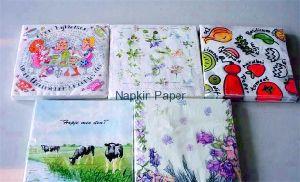 Vintage Printed Napkins