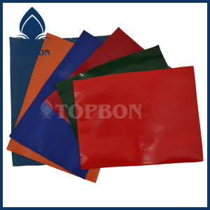 PVC Coated Polyester Fabric for Bag and Luggage Tb034 pictures & photos