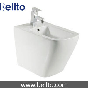 Floor Standing White Ceramic Bidet for Ladies Toilet pictures & photos