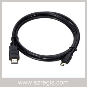 3D CCS High-Definition V1.4 Mini 1080P HDMI to HDMI Cable pictures & photos