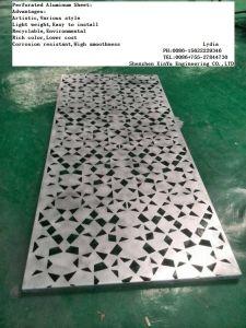 CNC Machine Perforated Aluminium Panel for Decoration
