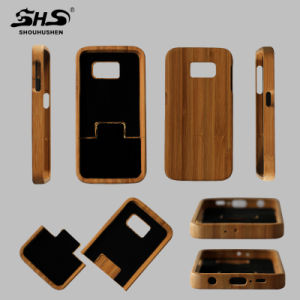 2016 Newest Waterproof Cell Phone Wood Mobile Case