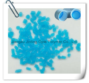 Pacrel TPE Transparent Blue Material for Cap Liner / Gasket pictures & photos