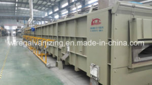 Open Fire Heat Treatment Furnace for Construction Used Steel Wire pictures & photos