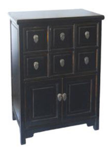 Chinese Antique Furniture Black Cabinet pictures & photos