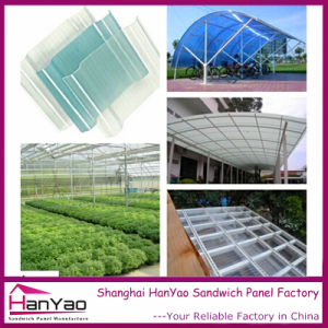 Translucent PVC Roof Tile for Canopy and Greenhouse pictures & photos