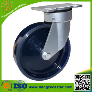 Industry Swivel Caster with Solid PU Wheels pictures & photos