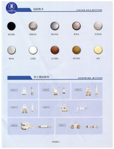 Hook & Eyes Trousers & Skirt Hook Press Stud Button for Clothing/Garment/Shoes/Bag/Case pictures & photos