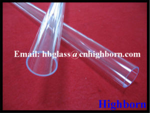 Hot Sell Ozone Free Fused Silica Quartz Glass Tube pictures & photos