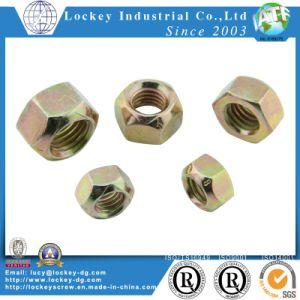 Nylon Insert Hex Flange Lock Nut Flange Nylon Lock Hex Nylon Lock Nut pictures & photos