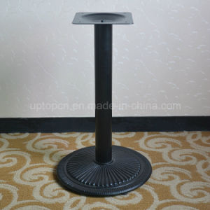 Black Metal Circular Industrial Table Legs for Restaurant (SP-MTL174) pictures & photos