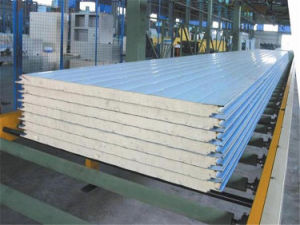 High Insulated PU Sandwich Panel for Roof Wall pictures & photos