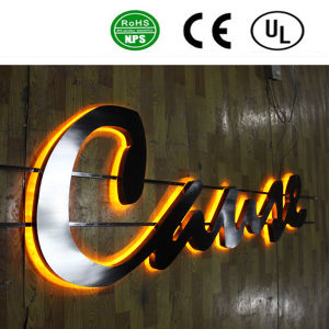 Customized LED Channel Letters LED Backlit pictures & photos