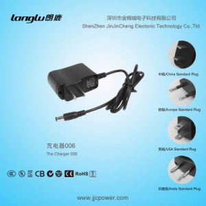 12V/0.5A/6W AC/DC Charger with Switching Power Plug