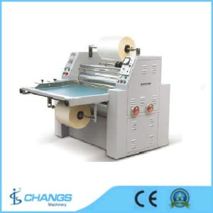 Sfml-920 Semi-Automatic Single Side Paper/Card/Photo/Film/Spot/A4 Size/Pre-Glued/Certification/Document/Draw/Advertisement/Book/Laminating Machine pictures & photos